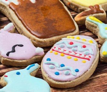 Przepis na ciasteczka – biszkoptowe pisanki