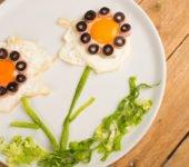 jajka sadzone przepis kwiatki