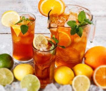 Mrożona orzeźwiajaca herbata – ice tea – przepis
