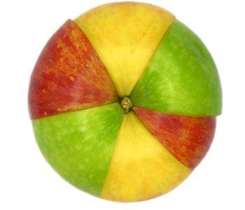 Kolorowe jabłko – niespodzianka na Prima Aprilis