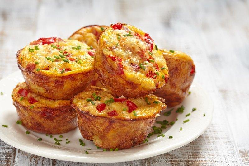 przepis na muffinki z papryką i serem
