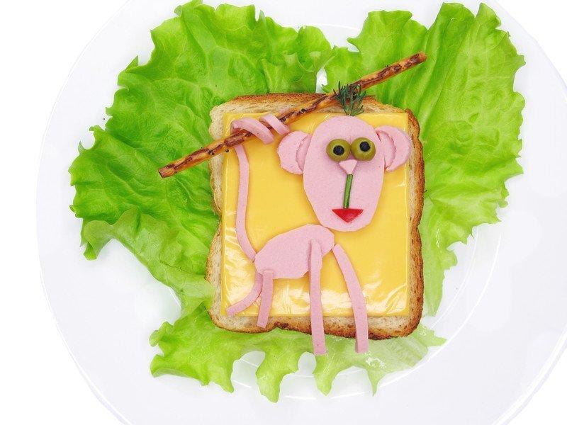 przepis na kanapkę małpka