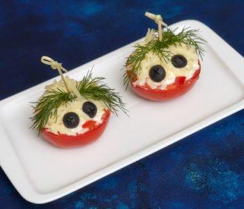 Przepis na proste wesołe faszerowane pomidory