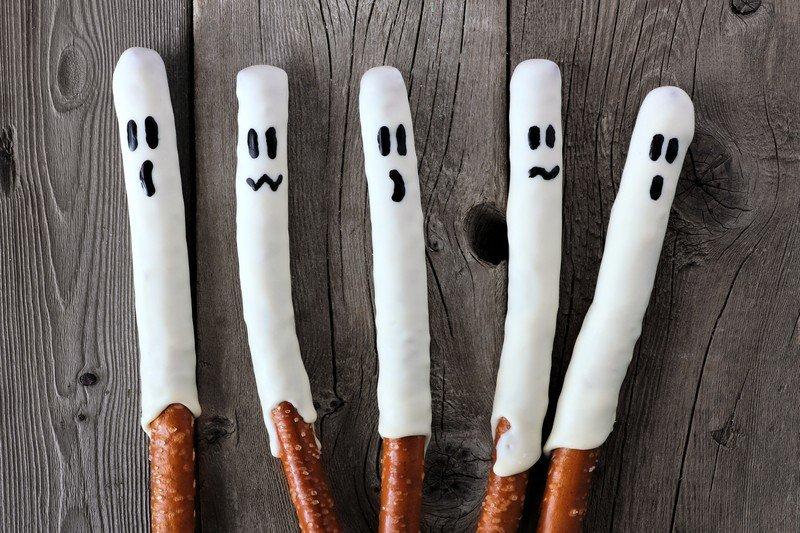 przepis na duszki na Halloween