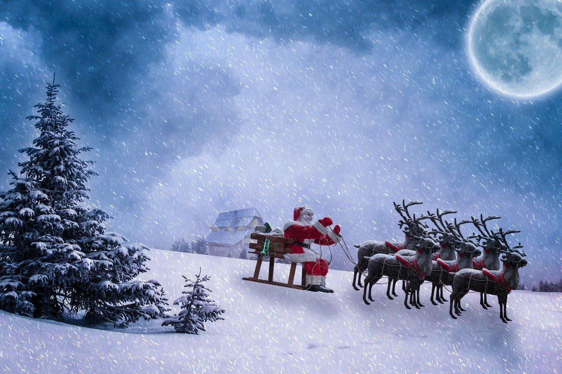 Odwiedziny Świętego Mikołaja, wierszyk dla dzieci na Boże Narodzenie