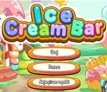 Dekoracja lodów, gra online dla dzieci