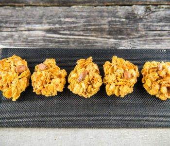 Przepis na ciasteczka z płatków kukurydzianych