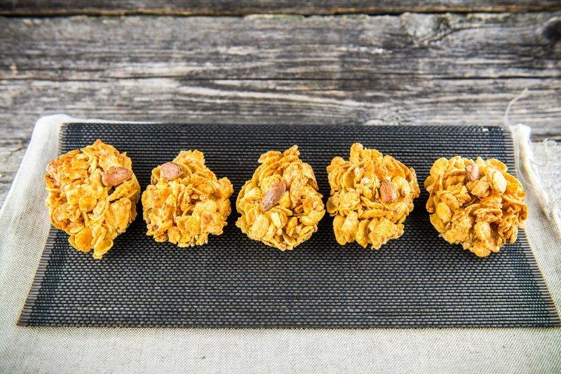 ciasteczka z płatkow kukurydzianych