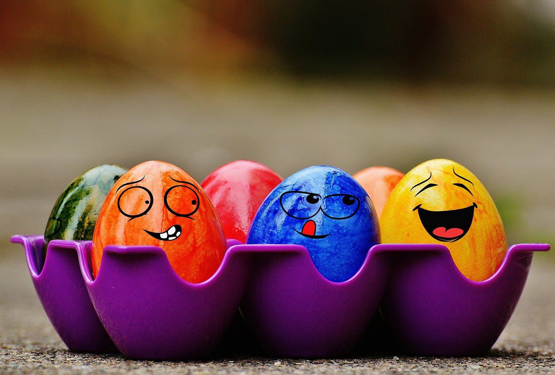Wesołe Pisanki świąteczny Wierszyk Dla Dzieci Wielkanocne
