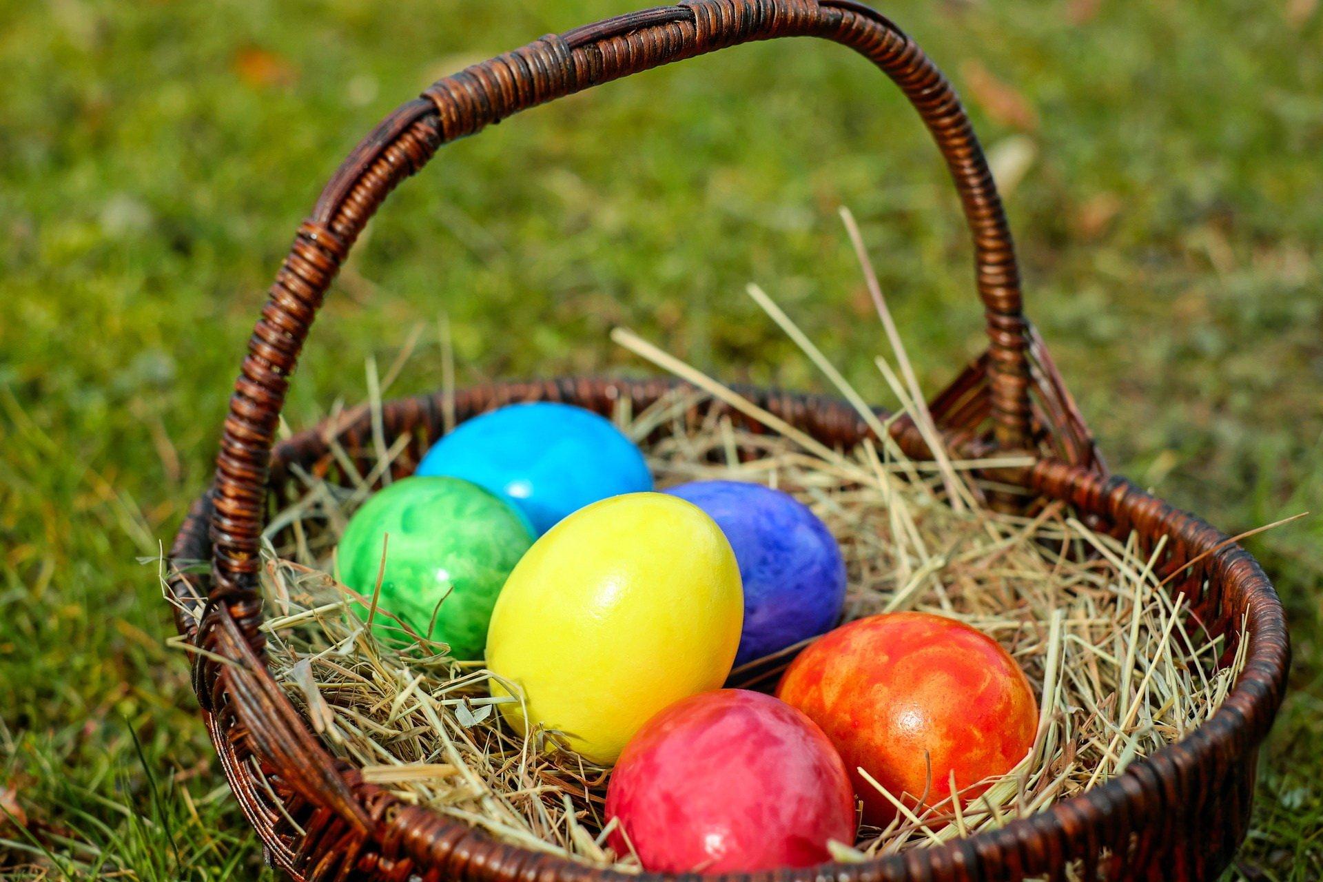 Pisanki wierszyk na Wielkanoc dla dzieci