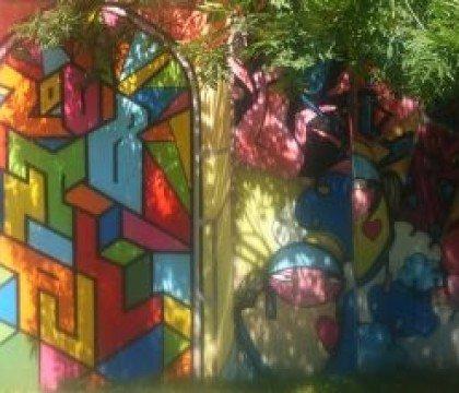 ogromne graffiti