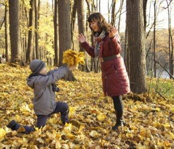 szedł listopad, piosenki dla dzieci na jesień