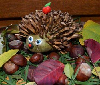 Ziemniaczany jeżyk – jesienna zabawa