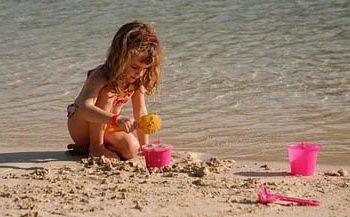 I jeszcze plaża...