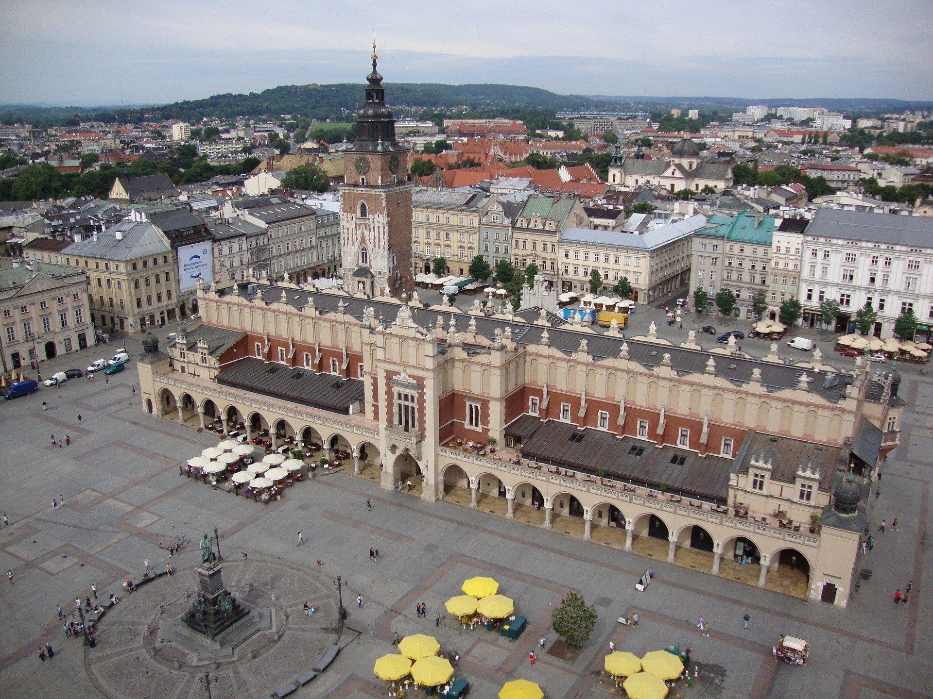 Przyleciał ptaszek z Łobzowa, piosenka o Krakowie dla dzieci, tekst i melodia