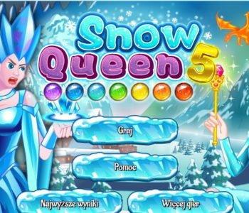 Królowa Śniegu – gra online dla dzieci