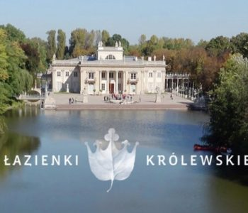 Łazienki Królewskie - panorama