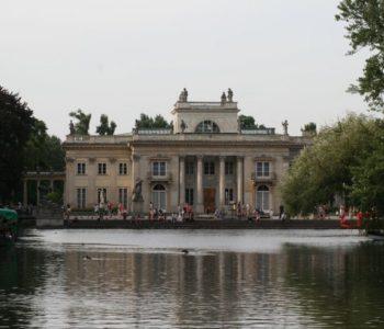 Widok na Pałac Na Wyspie