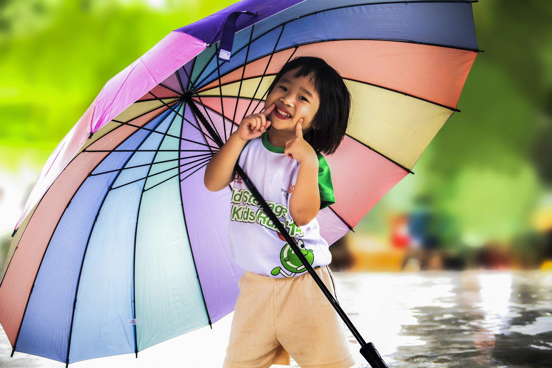 Na deszczową pogodę wiersze na jesień dla dzieci