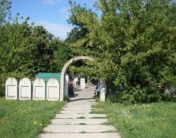 pozostałości cmentarza żydowskiego