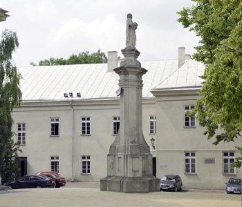 Muzeum Ziemi Chełmskiej w Chełmie - dziedziniec
