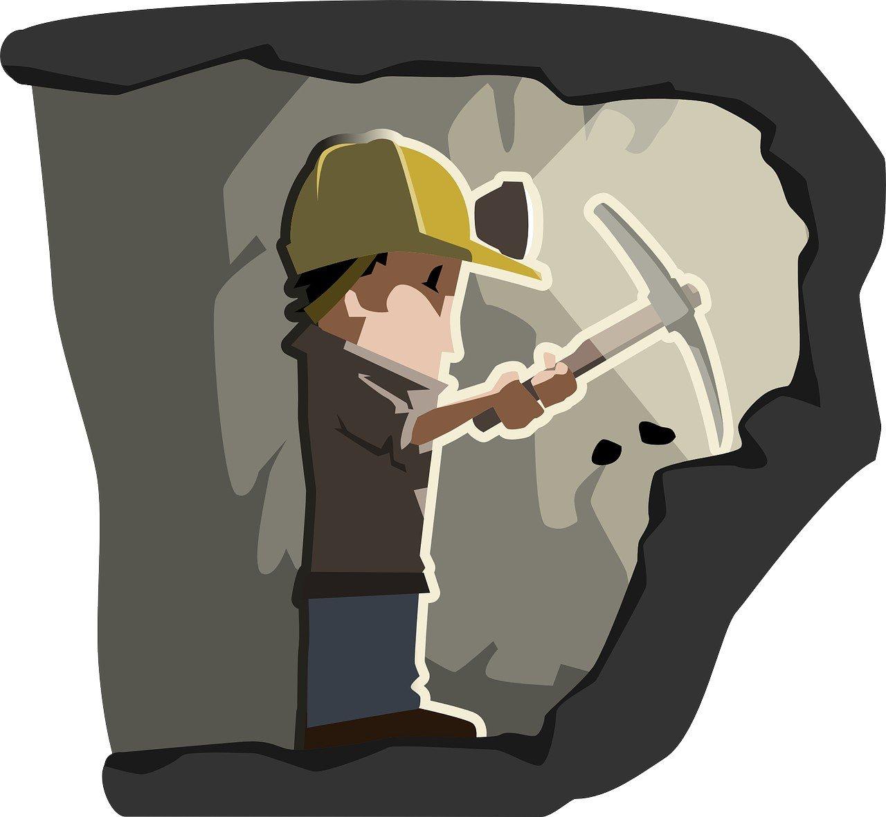 W kopalni wierszyk dla dzieci o górnikach