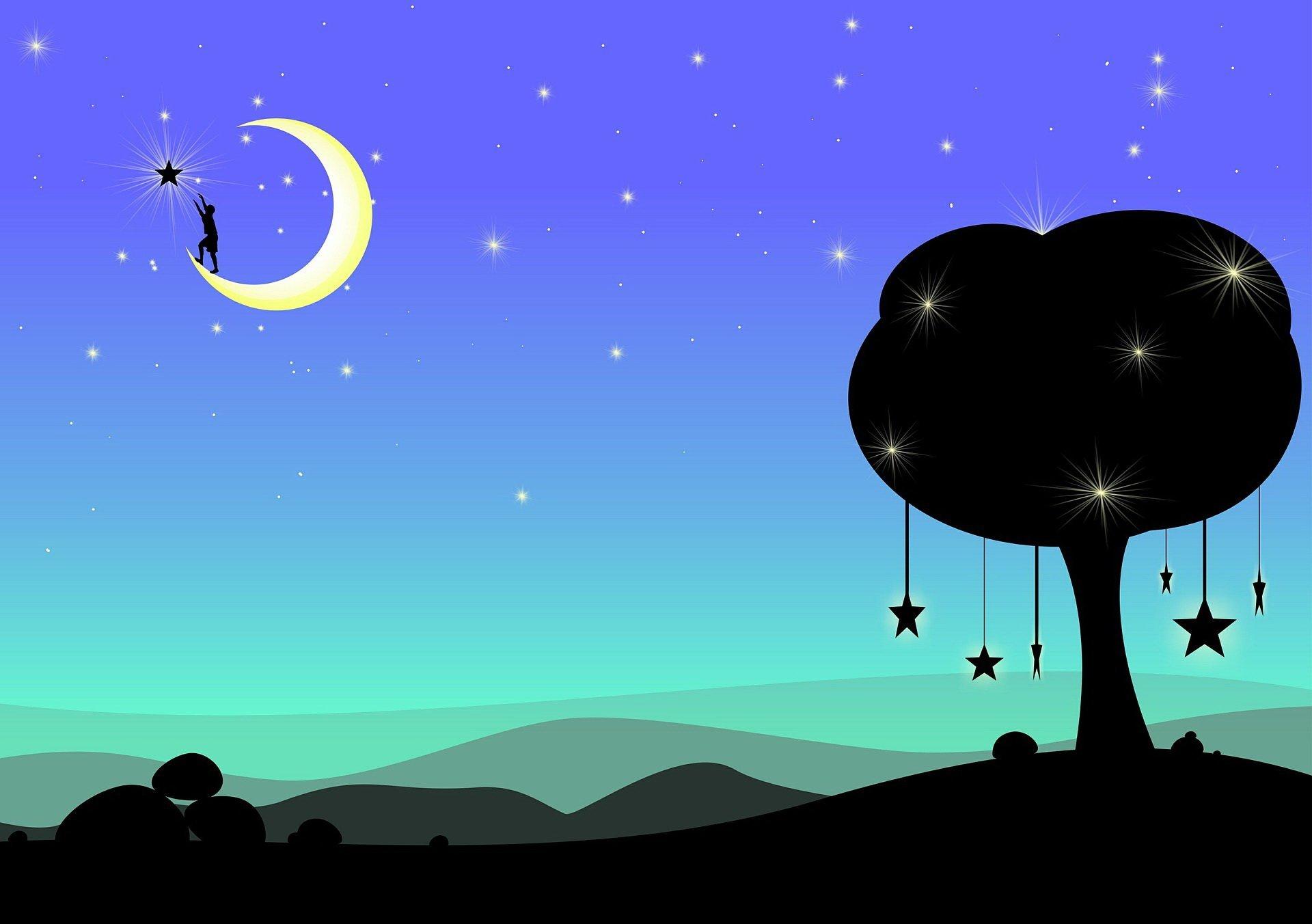 kukuryku na księżycu wierszyk dla dzieci