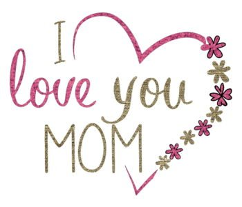 Kocham moją mamę
