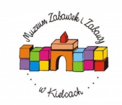 Logo muzeum zabawek i zabawy w Kielcach