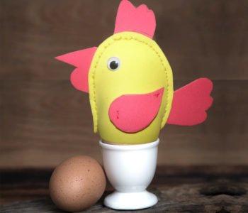 Ocieplacz na jajko w kształcie kurczaczka