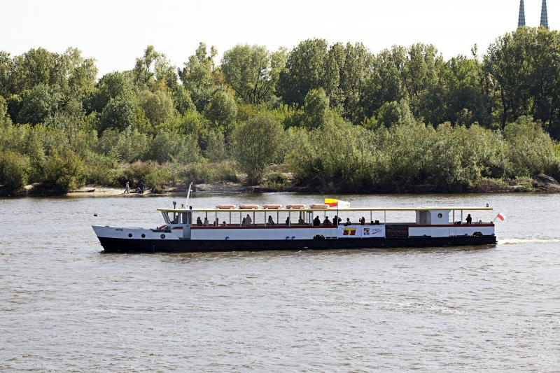 "Statek ""Zefir"" do Serocka - rejs po Wiśle"