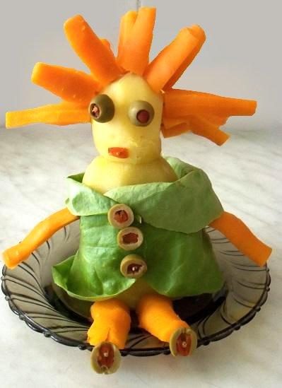 przepis na zabawnego Pana Ziemniaka