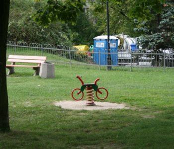 Plac zabaw w Parku Fosa