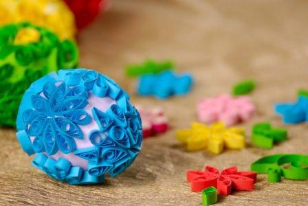 pisanki quilling zabawy świąteczne