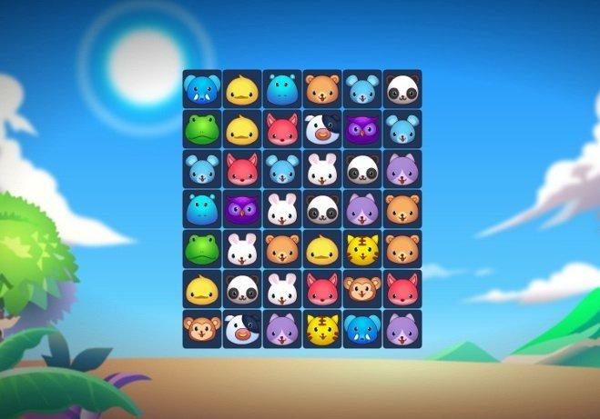 polacz zwierzeta gra online dla dzieci