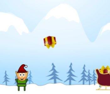 pomocnicy mikolaja gra online dla dzieci Boże Narodzenie
