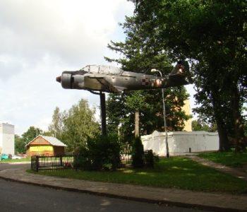 Pomnik- Samolot, ul. Ikara 1