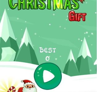 Prezent bożonarodzeniowy. Gra online dla dzieci