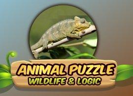 Puzzle ułóż zwierzęta – gra online