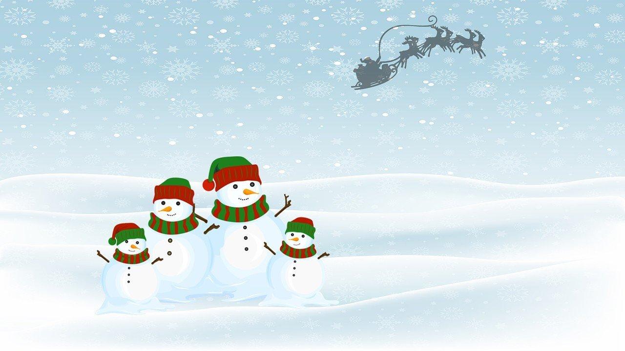 Śnieżne wianki piosenka na zimę dla dzieci, tekst i muzyka
