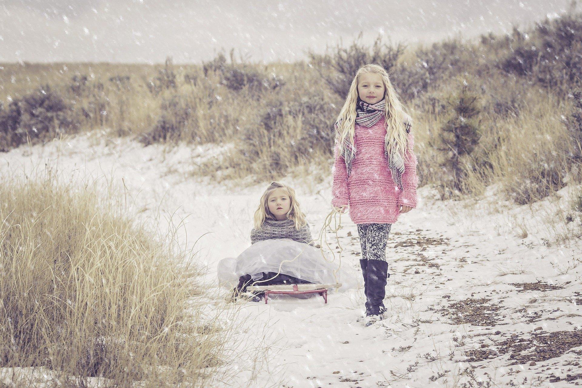 Grudniowa ballada zimowa piosenka dla dzieci tekst i melodia
