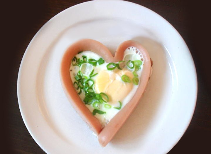 śniadanie na Walentynki