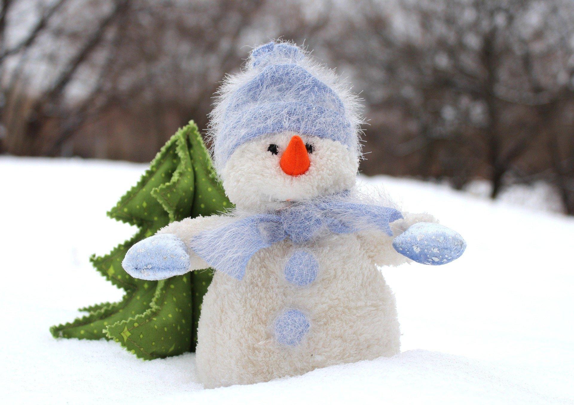 Bałwan grubasek zimowy wierszyk dla dzieci