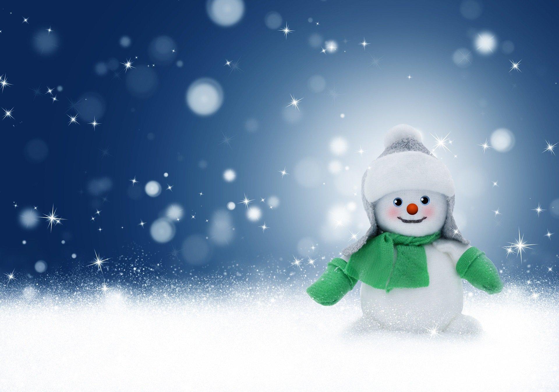 śniegowy Bałwanek Wierszyk Na Zimę Dla Dzieci Wiersze I