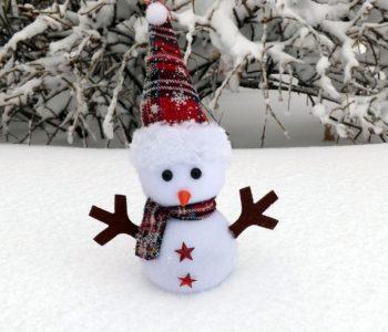 Śniegowy bałwanek zimowy wierszyk dla dzieci