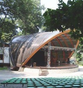 Kawiarnia na dachu Muszli koncertowej