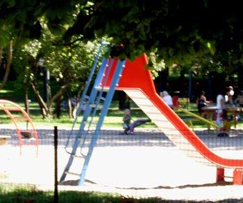 Plac zabaw w Parku Praskim