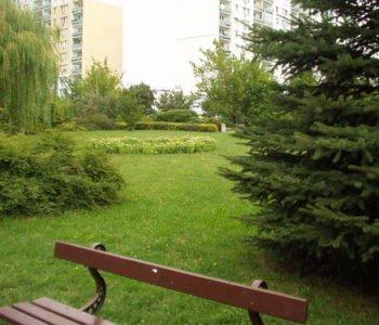 Minipark wśród bloków