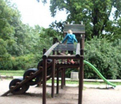Park Wielkopolski - dwa place zabaw dla dzieci!