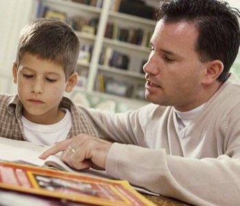 Tata czyta